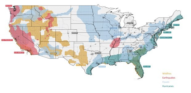America After Climate Change, Mapped