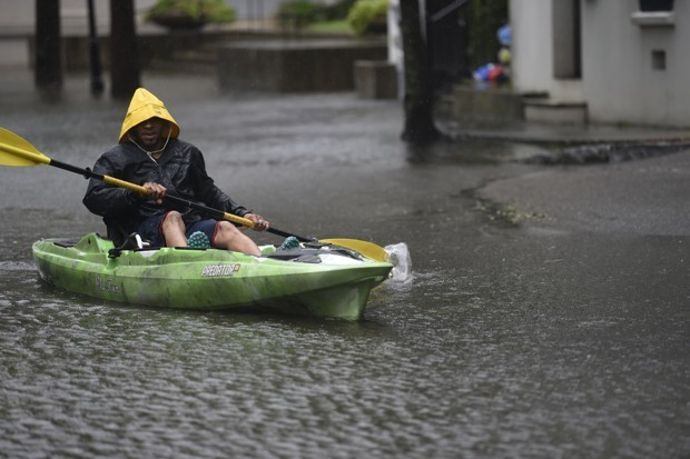 Before Hurricane Dorian, Charleston Already Had a Flooding Crisis