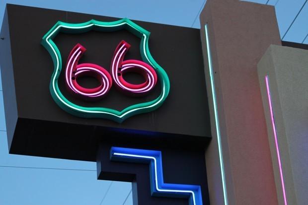 Get Your Kicks Biking Route 66