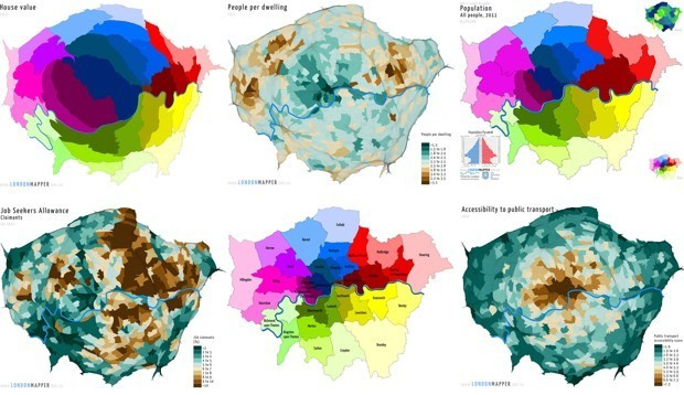Browsing an Incredible New 'Social Atlas of London'