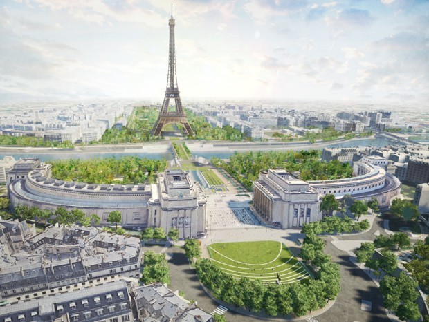 Paris Will Create the City's Largest Gardens Around the Eiffel Tower