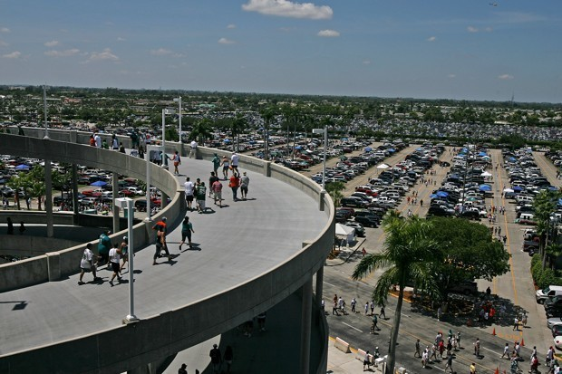 Hate Stadium Parking and Game-Day Traffic? An Idea.