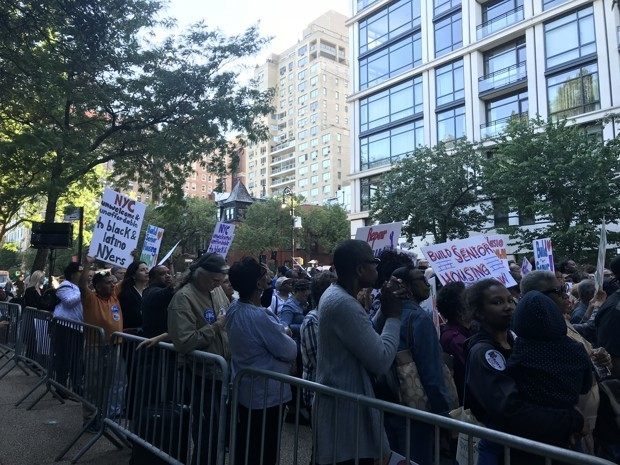 Seniors Get Angry About Broken Promises for Affordable Housing in NYC