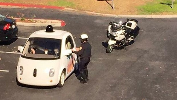Google's Self-Driving Car Was Pulled Over for Driving Too Slowly