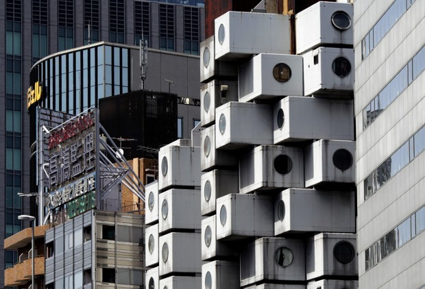 Time Is Running Out for Tokyo's Nakagin Capsule Tower