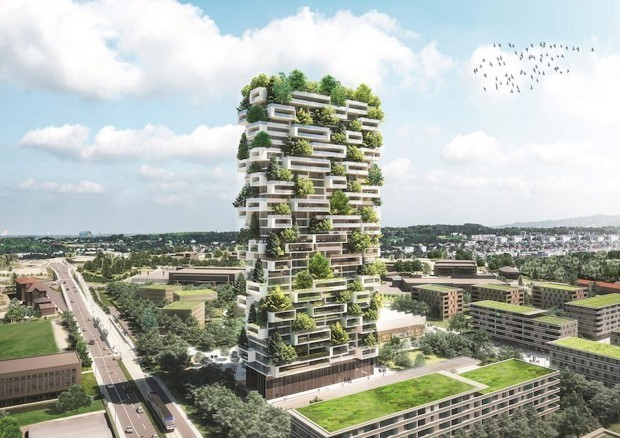 Switzerland Plans to Build a Livable Forest in the Sky