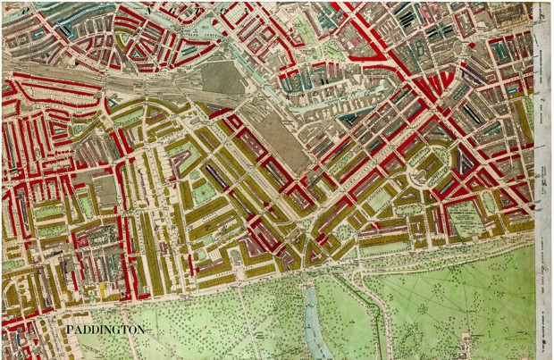 Victorian London's Wealth and Poverty, Mapped Block by Block