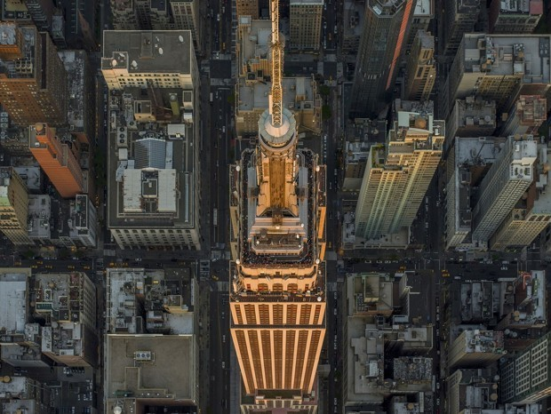 The Quiet Grandeur of New York and L.A. From Above
