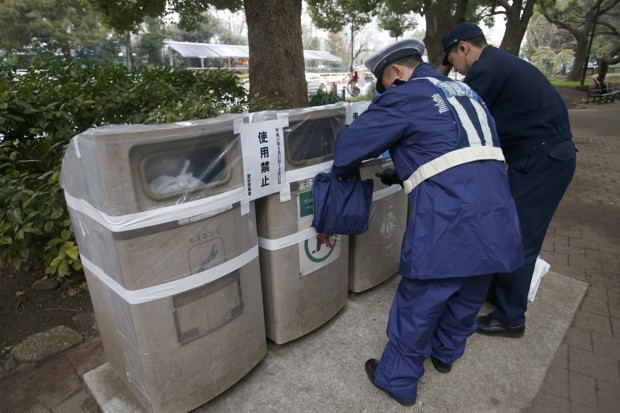 Carefully, Japan Reconsiders the Trash Can