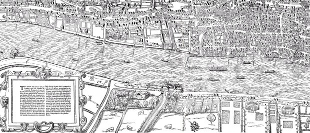 An Interactive Map of Shakespeare's London