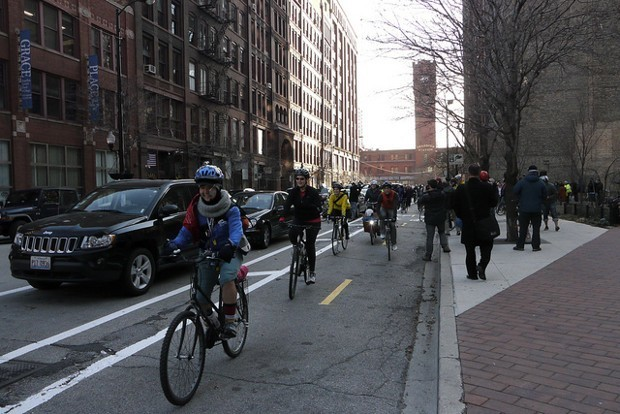 Protected Bike Lanes Aren't Just Safer, They Can Also Increase Cycling
