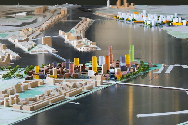 Amsterdam Plans a Distinctly American High-Rise Island