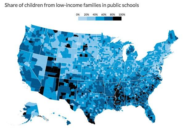 The Stark Inequality of U.S. Public Schools, Mapped