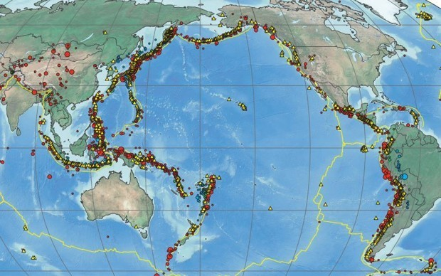 Mapping More Than a Century of Major Earthquakes