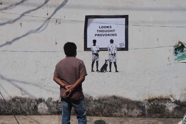 The 'Indian Banksy' Asks Viewers to Reconsider the Democracy of Art