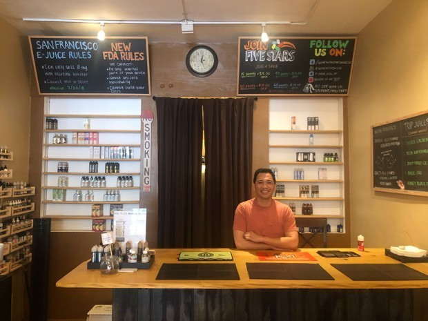 Are These the Last Vape Shops in San Francisco?