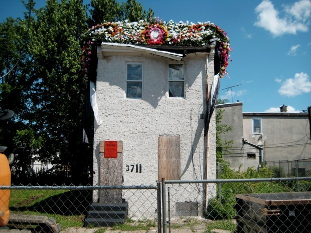 Funeral for a Philadelphia Rowhouse