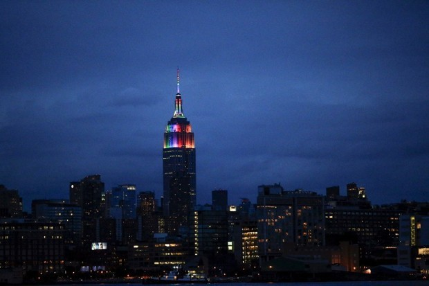 Colorful Lights Are Turning Skyscrapers Into Tacky Billboards