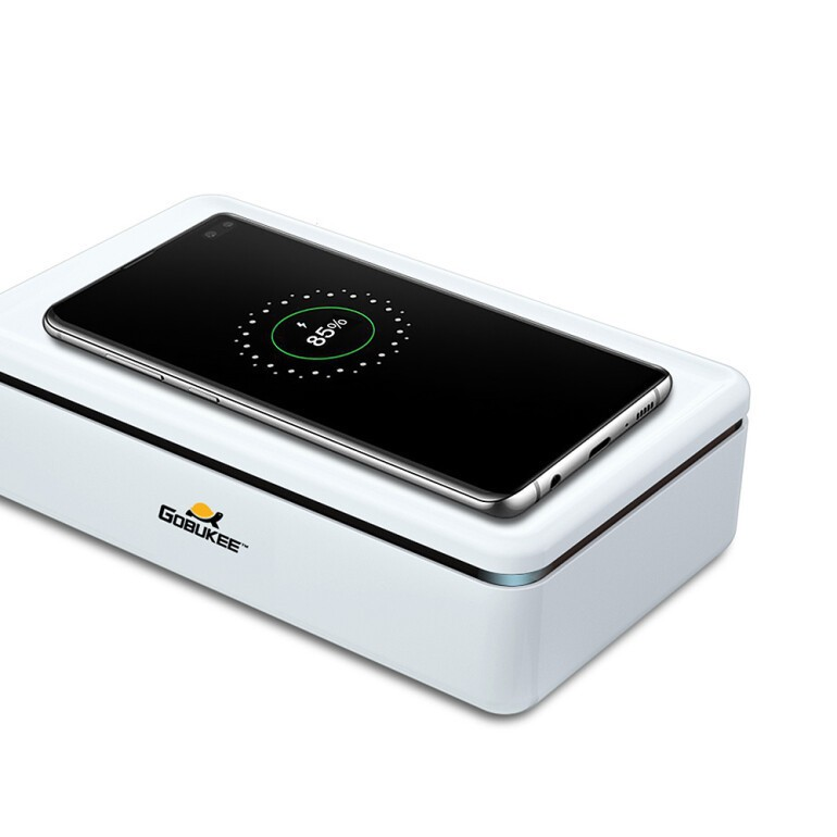 [KITAS 2020] 고부기 '15W 무선충전기 UVC LED 마스크 핸드폰 살균 소독기'