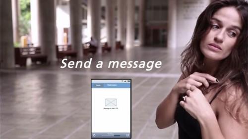 Controla tu teléfono en secreto con una extensión de cabello