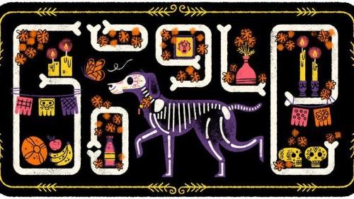 Día de los Muertos: Así lo celebra Google con su 'doodle'