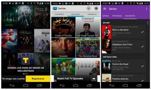 Cómo seguir los episodios de series de TV por móviles Android