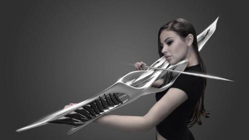 Este hermoso y extraño objeto es un violín impreso en 3D