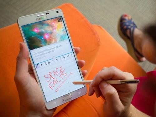 Cómo usar el lápiz óptico S Pen en el Samsung Galaxy Note 4