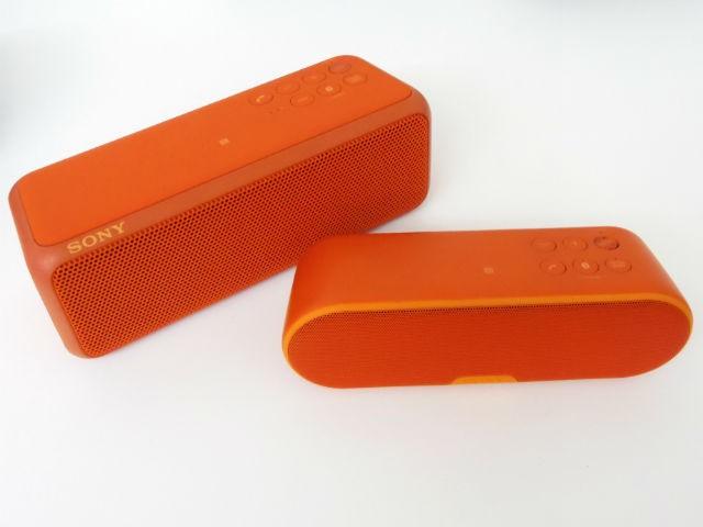 ソニー、重低音を強化したBluetoothスピーカ--防水対応も