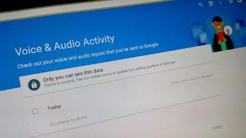 Cómo hacer que Google deje de grabar tu voz