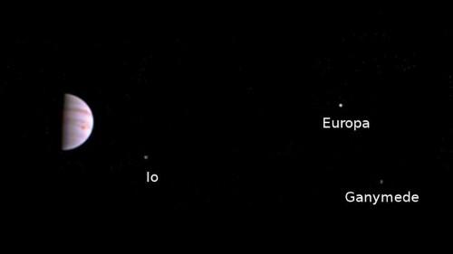 Juno envía la primera foto de la órbita de Júpiter