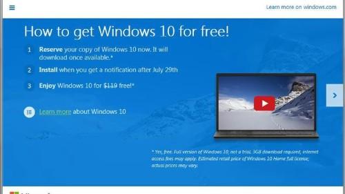 No todos podrán descargar Windows 10 gratis aunque tengan Windows 7 o 8.1