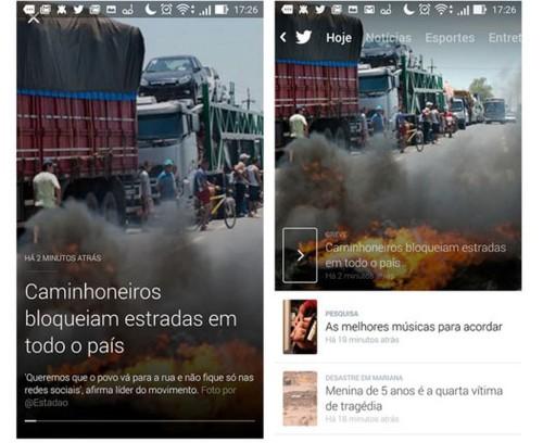 Twitter Moments llega a Brasil, primer país en estrenarlo fuera de EE.UU.