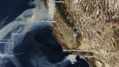 Así ayuda la tecnología a comprender el incendio que arrasa en California