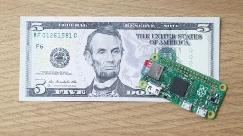 La computadora Raspberry Pi Zero cuesta solamente US$5