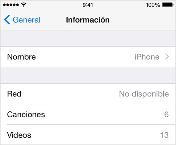Cómo cambiar el nombre a tu iPhone, iPod o iPad