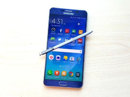 El Samsung Galaxy Note 6 sería resistente al agua y con lector de iris