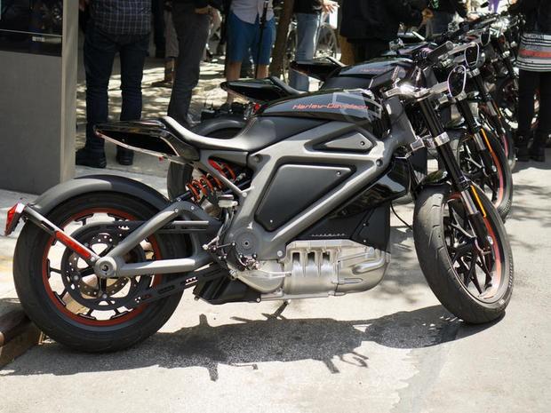 ハーレーダビッドソン初の電動バイク--写真で見る「Project LiveWire」 - CNET Japan
