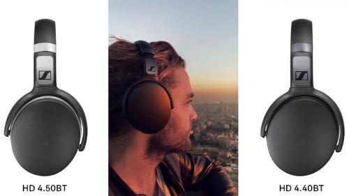 Sennheiser lanza los audífonos HD 4.50BTNC y el 4.40BT en CES 2017