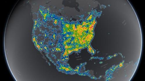 La contaminación de luz esconde la Vía Láctea para un tercio de los humanos