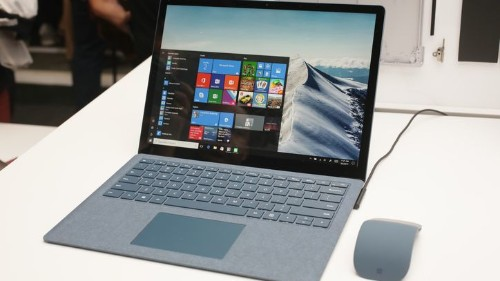 La Surface Laptop se puede cambiar a Windows 10 Pro gratis hasta 2018