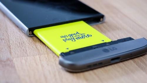 Cómo quitar la batería del LG G5