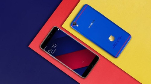 El Oppo F1 Plus FC Barcelona es un celular para los fanáticos del fútbol