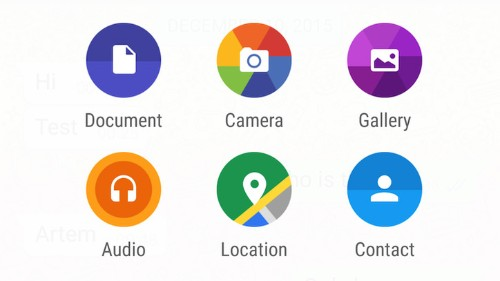 Nueva versión de WhatsApp para Android permite envío de documentos