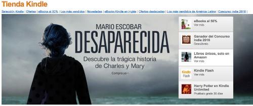 Amazon ofrecerá 2,000 libros más en español para Kindle