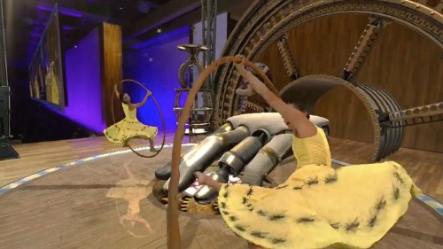Cirque du Soleil experiments with Hololens-built set designs