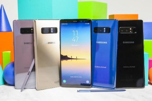Galaxy Note 8 vs. Note 7 vs. Note 5: ¿Cómo ha evolucionado el celular?