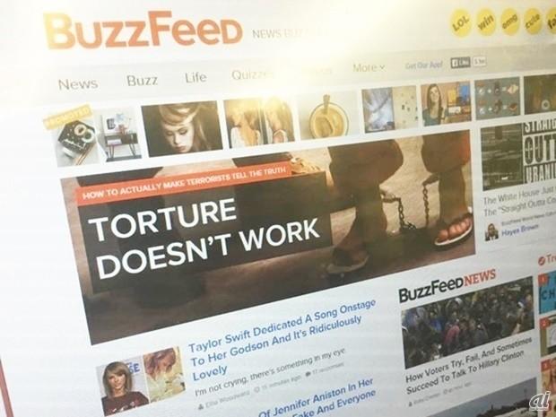 米バイラルメディア「BuzzFeed」、ヤフーと日本版を展開--国内編集部を新設