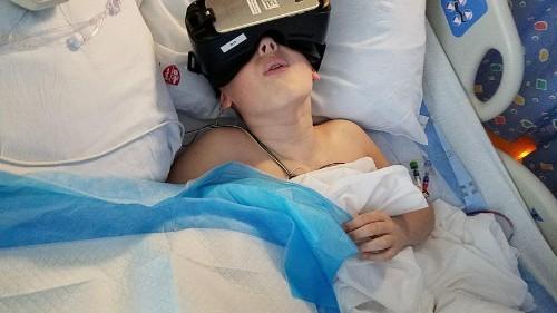 La realidad virtual podría ser tu mejor analgésico