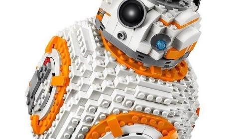 Lego lanza un nuevo y enorme BB-8 de 'Star Wars' para armar